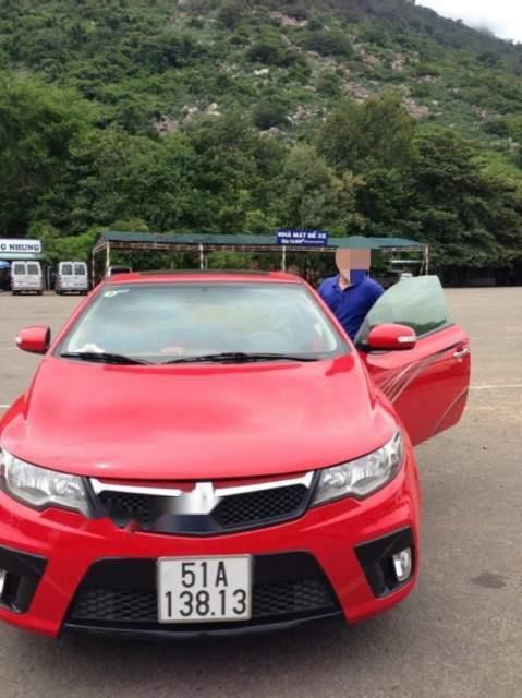 Cần bán Kia Cerato Sport đời 2010, màu đỏ, 2 cửa thể thao