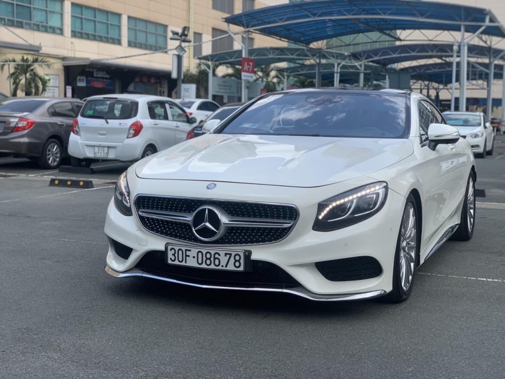 Bán Mercedes S500 Coupe đời 2016, màu trắng, xe nhập