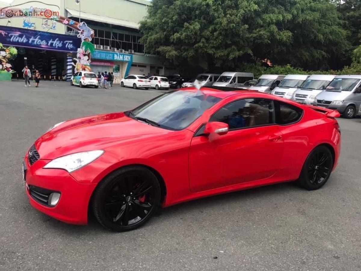 Cần bán gấp Hyundai Genesis năm 2010, màu đỏ, xe nhập