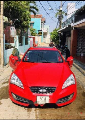 Bán Hyundai Genesis sản xuất 2011, màu đỏ, xe nhập