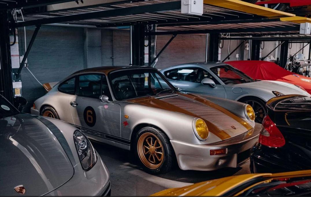 Garage của giới nhà giàu khiến nhiều phát sốt 10a