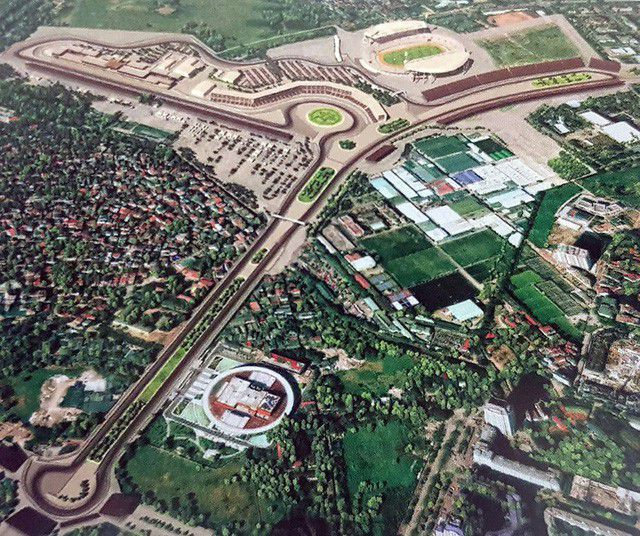 Lịch dự kiến giải đua F1 tại Việt Nam diễn ra vào ngày 5/4/2020 1a