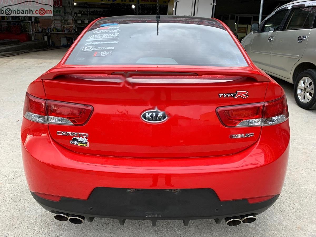 Cần bán gấp Kia Cerato Koup 2.0 AT đời 2011, màu đỏ, nhập khẩu
