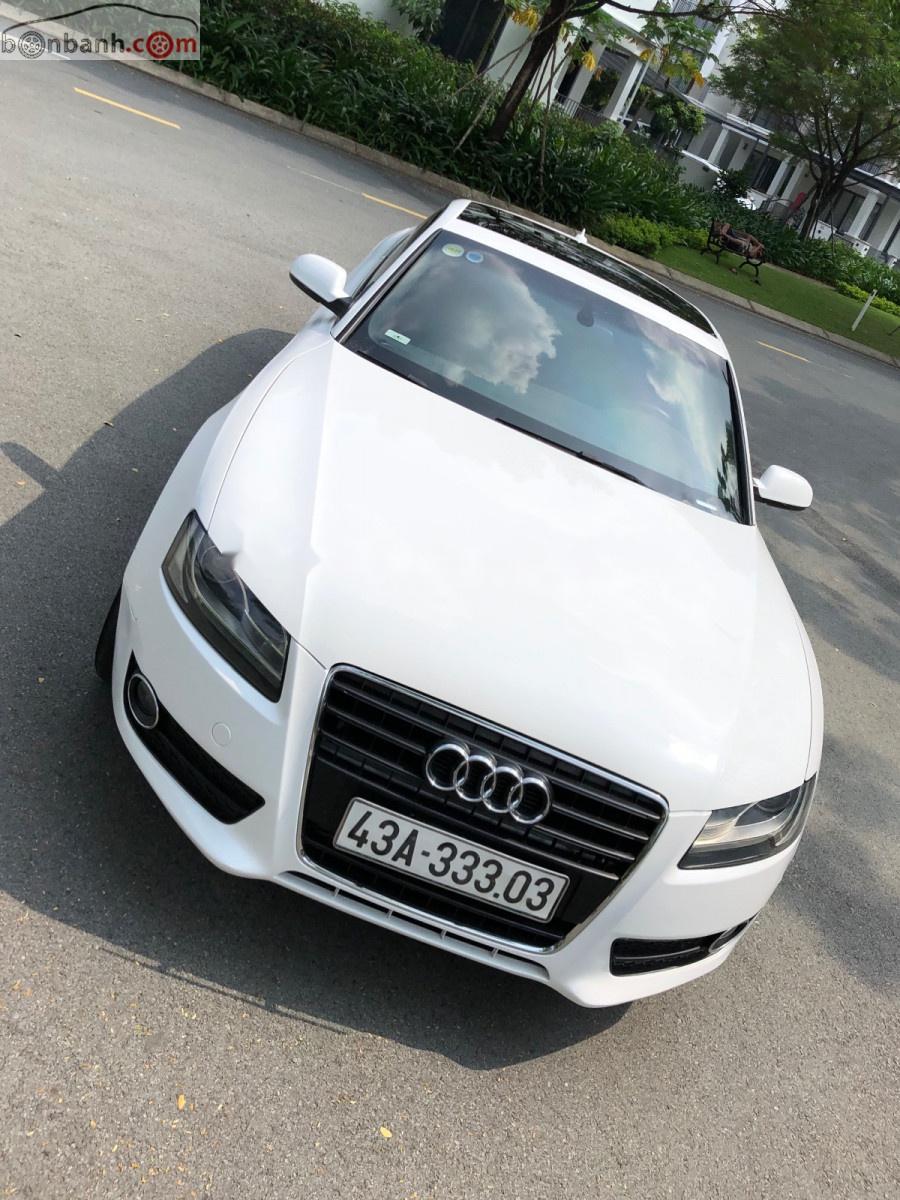 Cần bán Audi A5 A5 2.0 T đời 2010, màu trắng, xe nhập