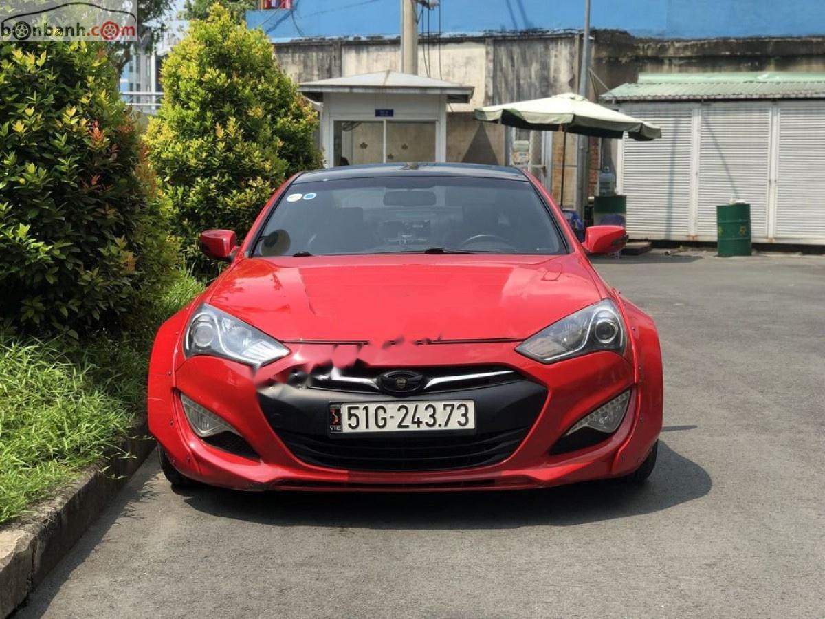 Bán ô tô Hyundai Genesis 2012, màu đỏ, nhập khẩu nguyên chiếc chính hãng