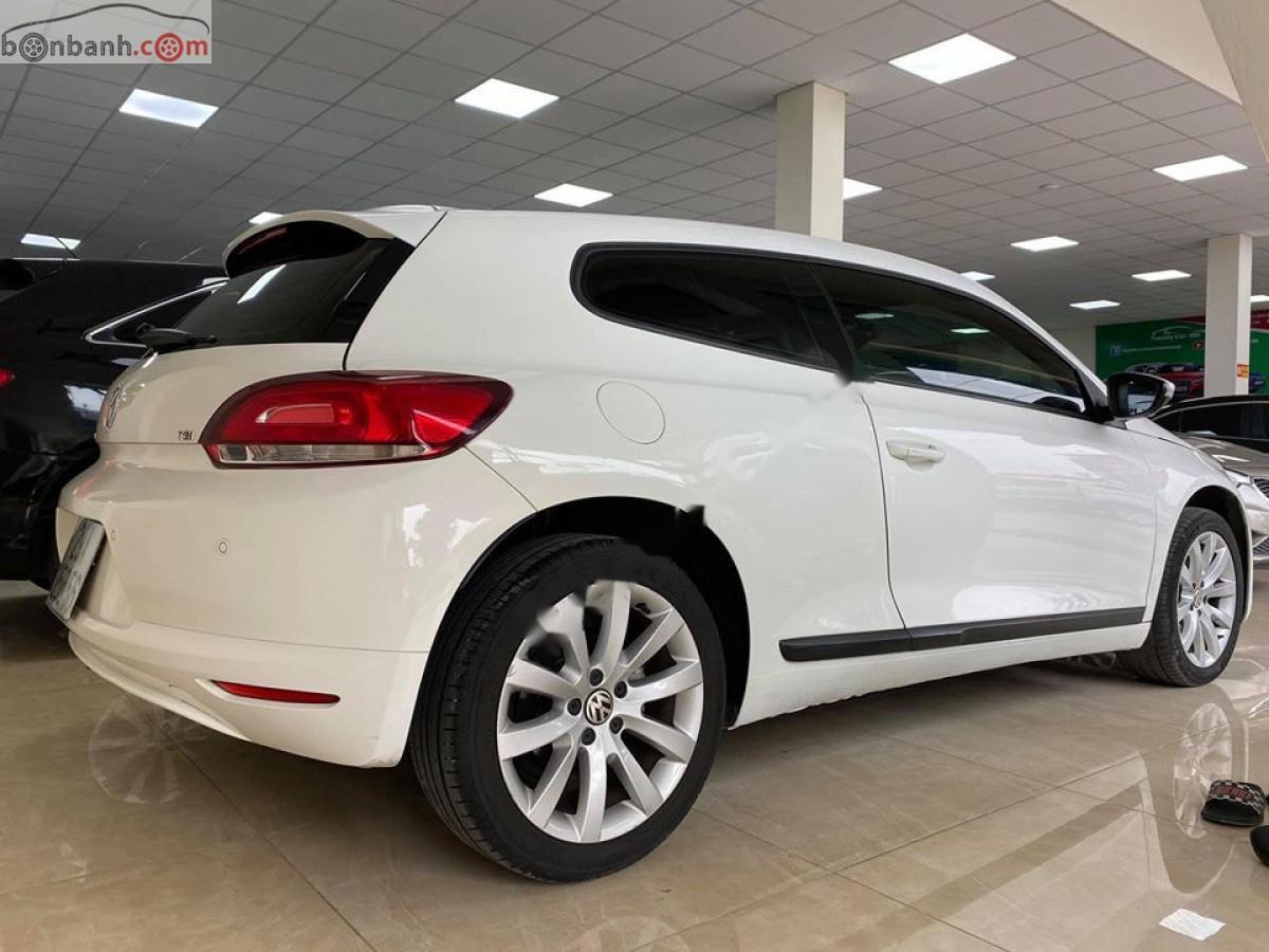 Bán xe Volkswagen Scirocco năm 2010, màu trắng, xe nhập chính hãng