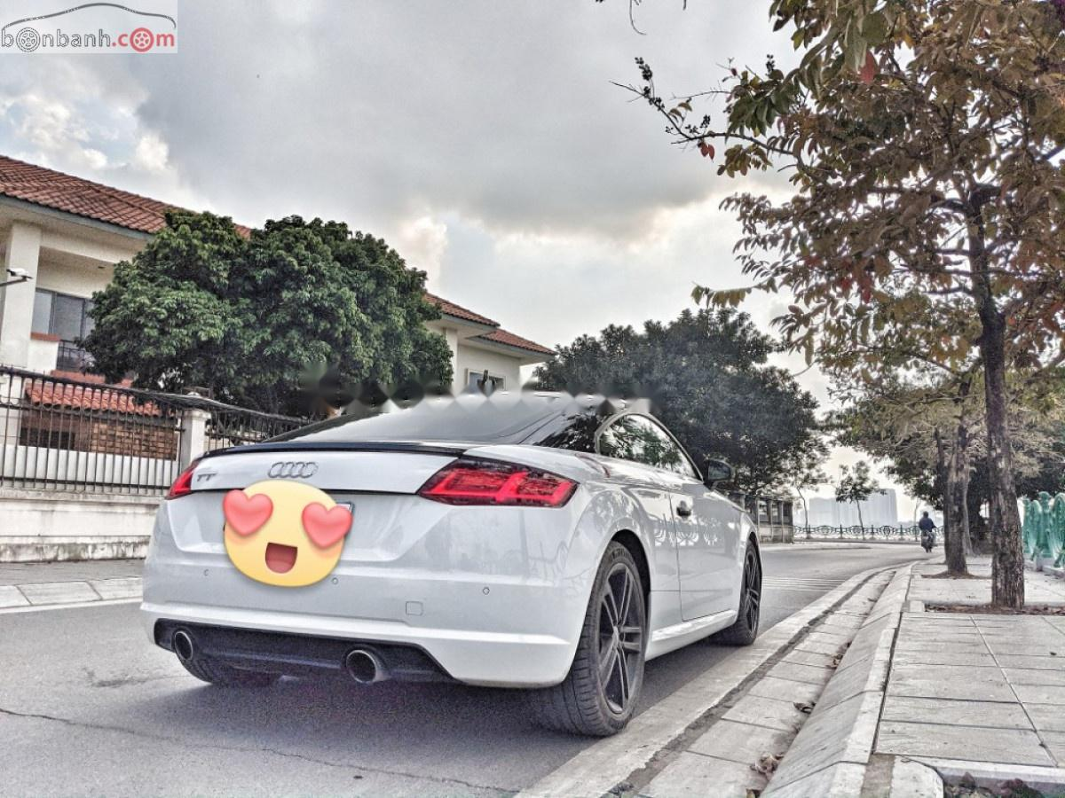 Bán Audi TT 2.0 TFSI năm sản xuất 2015, màu trắng, nhập khẩu