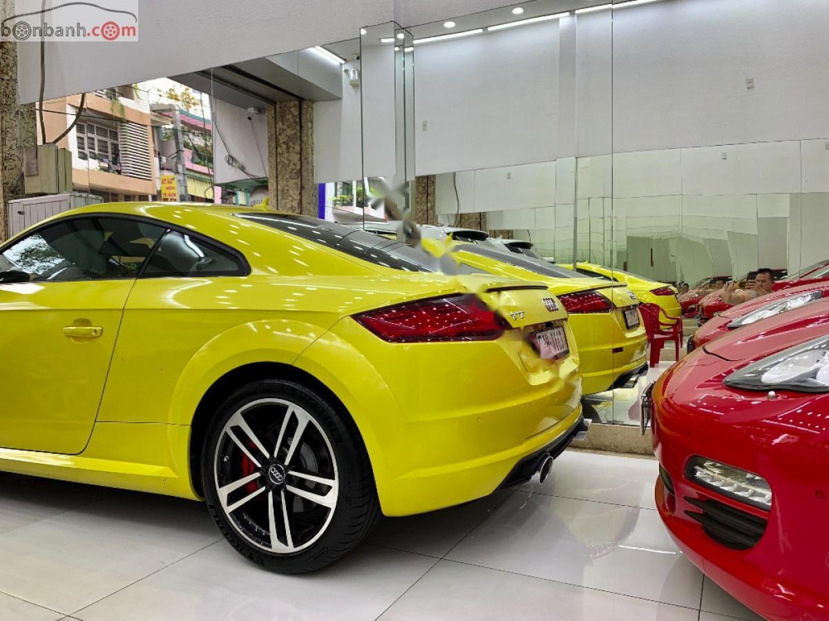 Bán Audi TT 2.0 TFSI năm 2016, màu vàng, nhập khẩu
