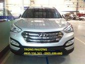 Bán xe Hyundai Santa Fe 2.4 sản xuất 2015, màu bạc giá 1 tỷ 70 tr tại Đà Nẵng