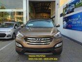 Bán xe Hyundai Santa Fe 2.4 đời 2015, màu nâu giá 1 tỷ 70 tr tại Đà Nẵng
