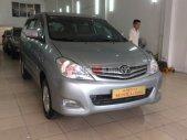 Cần bán gấp Toyota Innova G đời 2011, màu bạc, số sàn giá 635 triệu tại Hà Nội