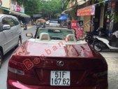 Cần bán xe Lexus IS250C sản xuất 2009, màu đỏ, nhập khẩu chính hãng giá 1 tỷ 550 tr tại Tp.HCM