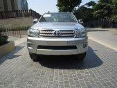 Cần bán gấp Toyota Fortuner đời 2009, màu bạc giá 639 triệu tại Hà Nội