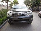 Cần bán lại xe Toyota Fortuner đời 2009, màu xám giá 645 triệu tại Hà Nội
