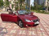 Chính chủ bán Lexus IS 250C đời 2010, màu đỏ, xe nhập giá 1 tỷ 480 tr tại Hà Nội