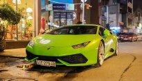 Lamborghini Huracan của đại gia Phan Thành xuất hiện trên phố Sài Gòn