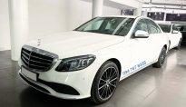 Bán Mercedes C200 Exclusive 2019 cũ màu trắng, biển đẹp giá cực tốt giá 1 tỷ 480 tr tại Hà Nội