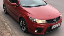 Bán Kia Cerato Koup 1.6 AT sản xuất 2011, màu đỏ, nhập khẩu giá 364 triệu tại Hà Nội