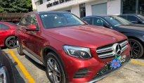 Xe cũ chính hãng Mercedes GLC300 2020 màu đỏ/kem siêu lướt giá tốt giá 2 tỷ 160 tr tại Hà Nội