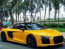 """Audi R8 V10 Plus của Cường Đô la mặc """"áo"""" mới"""